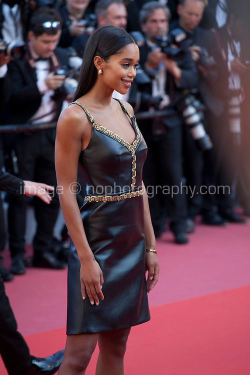 Laura Harrier at the Award Ceremony and The Man Who Killed Don Quixote at the The Man Who Killed Don Quixote gala screening at the 71st Cannes Film Festival, Saturday 19th May 2018, Cannes, France. Photo credit: Doreen Kennedy