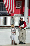 U.S. Army National Guard Specialist Kristopher Gill and daughter Raquel spend time together at their quaint American town of Smithsburg, Maryland. Photos by Johnny Bivera
