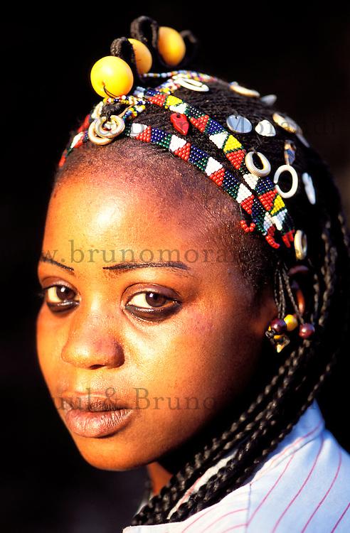 Mali - Segou - Ségoukoro - Ancien royaume Bambara - Ethnie Bambara - Bijoux - Ambre