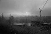 Smog över Aspudden.