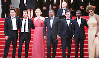 Matthew Mcconaughey, Macy Gray, Nicole Kidman, Lee Daniels, John Cusack, Zac Efron, David Oyelowo, Macy Gray, on the red steps at The Paperboy gala screening red carpet at the 65th Cannes Film Festival France. Thursday 24th May 2012 in Cannes Film Festival, France.