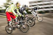 Mittglieder BMX-Club Zuger-Racer beim Training