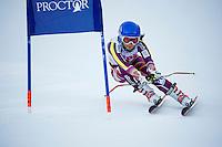 SPS Giant Slalom at Proctor/Blackwater Ski Area.    ©2017 Karen Bobotas Photographer