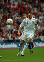Photo: Tony Oudot.<br /> England v Estonia. UEFA European Championships Qualifying. 13/10/2007.<br /> Steven Gerrard of England