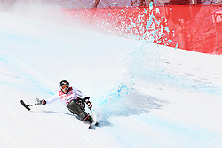 LOESCH Claudia LW11 AUT competing in the Para Alpine Skiing Downhill at the PyeongChang2018 Winter Paralympic Games, South Korea