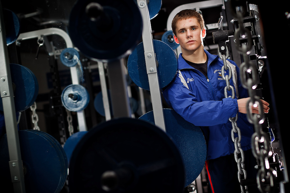 Kenny Staub, a wrestler at Coeur d'Alene High, will help defend the state 5A wrestling title the team won last year. Staub, who is in the top 10 of his senior class academically, will attend Brown University.