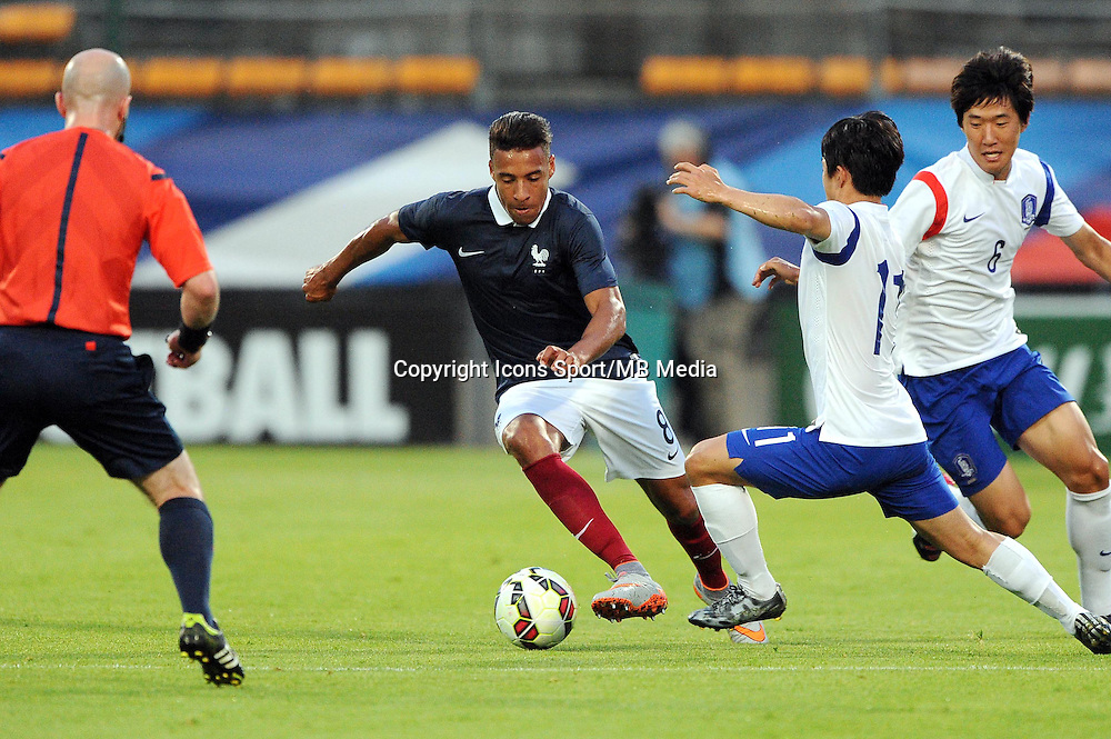 Corentin TOLISSO - 11.06.2015 - Football Espoirs - France / Coree du Sud - match amical -Gueugnon<br /> Photo : Jean Paul Thomas / Icon Sport