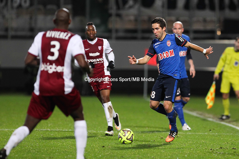 Joao MOUTINHO - 20.12.2014 - Metz / Monaco - 17eme journee de Ligue 1 -<br />