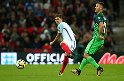 John Stones of England passes the ball - Mandatory by-line: Robbie Stephenson/JMP - 05/10/2017 - FOOTBALL - Wembley Stadium - London, United Kingdom - England v Slovenia - World Cup qualifier