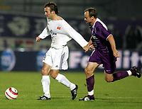 Fotball , 29. september 2005,   - UEFA Cup, FK Austria Wien vs Viking , Sigurd Rushfeldt  (A. Wien) og Trygve Nygaard. <br />  Foto:  Norbert Juvan , Digitalsport<br /> Norway only