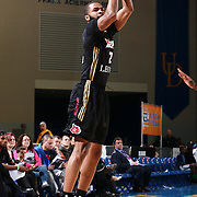 Erie BayHawks Guard AARON HARRISON (2) attempts a long range three pointer in the first half of a NBA D-league regular season basketball game between the Delaware 87ers and the Erie BayHawks Tuesday, Mar. 29, 2016, at The Bob Carpenter Sports Convocation Center in Newark, DEL.