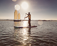 Stand-up Paddleboard at Newtown Creek