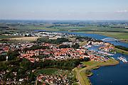Nederland, Zeeland, XXX, 12-06-2009;.Swart collectie, luchtfoto (25 procent toeslag); Swart Collection, aerial photo (additional fee required); .foto Siebe Swart / photo Siebe Swart