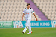 Brad Wheal of Hampshire during the Specsavers County Champ Div 1 match between Hampshire County Cricket Club and Yorkshire County Cricket Club at the Ageas Bowl, Southampton, United Kingdom on 1 September 2016. Photo by Graham Hunt.