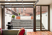 "The Manhattan townhouse of Bob and Courtney Novogratz, stars of the Bravo reality television series ""9 by Design."""