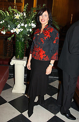 ROISIN O'REILLY at a carol concert in aid of the Institute of Cancer Research at the Royal Hospital Chapel, Chelsea on 2nd December 2004.<br />