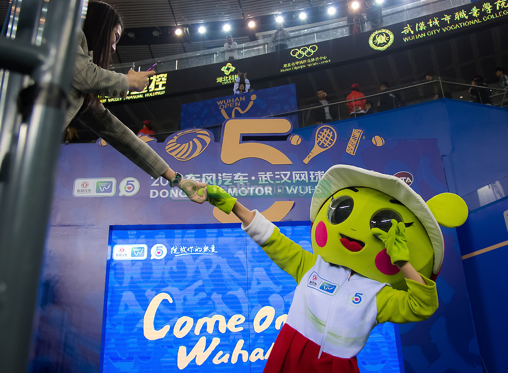 September 26, 2018 - Ambiance at the 2018 Dongfeng Motor Wuhan Open WTA Premier 5 tennis tournament (Credit Image: © AFP7 via ZUMA Wire)