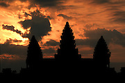 Angkor Wat spires