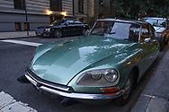 A 1973 Citroën DS on East 82nd street near Madison Avenue.