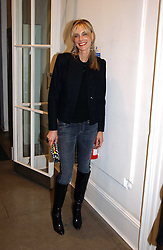 KIM HERSOV at 'A Night at Crumbland' an evening to celebrate the launch of the Stella McCartnry and Robert Crumb collaboration aand the publication of the R.Crumb handbook, held at Stella McCartney, 30 Bruton Street, London W1 on 17th March 2005.<br />