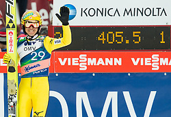 Noriaki Kasai of Japan during Ski Flying Individual Competition at Day 4 of FIS World Cup Ski Jumping Final, on March 22, 2015 in Planica, Slovenia. Photo by Vid Ponikvar / Sportida