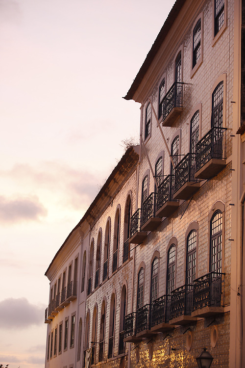Sao Luis_MA, Brasil.<br /> <br /> Casario Historico na Rua Portugal, que fazem parte do Projeto Reviver que restaurou parte do patrimonio da cidade de Sao Luis do Maranhao.<br /> <br /> History houses in Portugal Street, part of the Reviver Project which restored part of the heritage of the city in Sao Luis do Maranhao.<br /> <br /> Foto: LEO DRUMOND / NITRO