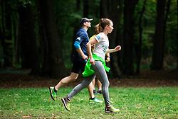 Priprave na 22. Ljubljanski maraton 2017 v okviru akcije Predani korakom; Maribor, Slovenia, on September 27, 2017. Photo by Vid Ponikvar / Sportida