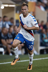 September 20, 2018 - Vila-Real, Castellon, Spain - Scott Arfield of Rangers runs during the UEFA Europa League group G match between Villarreal CF and Rangers at Estadio de la Ceramica on September 20, 2018 in Vila-real, Spain  (Credit Image: © David Aliaga/NurPhoto/ZUMA Press)