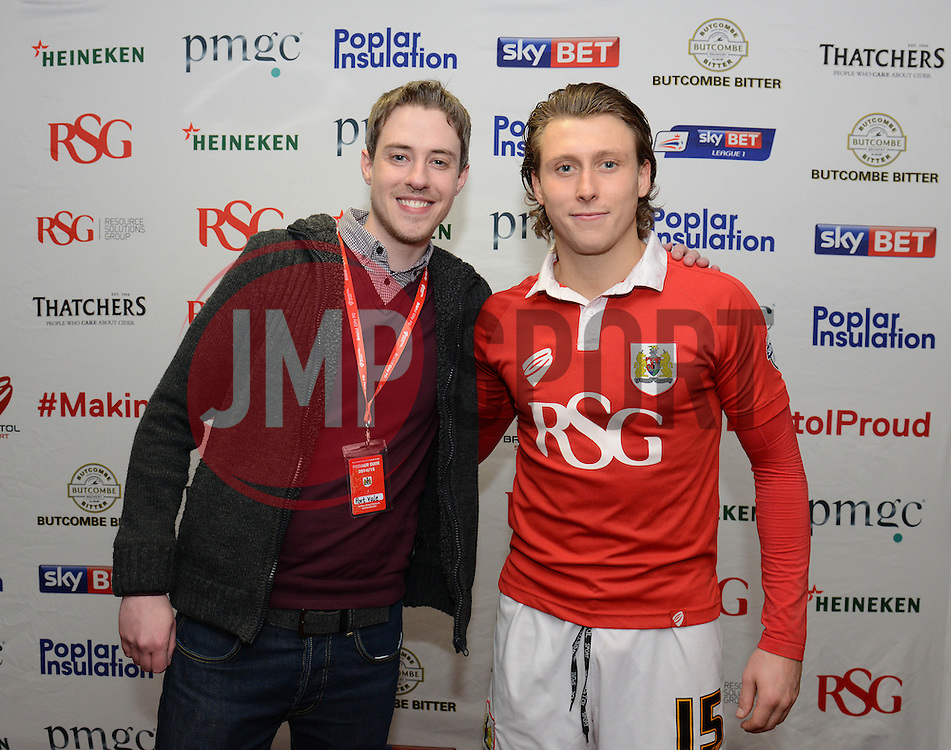 - Photo mandatory by-line: Dougie Allward/JMP - Mobile: 07966 386802 - 10/02/2015 - SPORT - Football - Bristol - Ashton Gate - Bristol City v Port Vale - Sky Bet League One