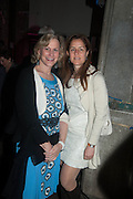 LORI TISCH; ABIGAIL SCHEUER, The Bronx Museum of the Arts, Tanya Bonakdar Gallery and the Victoria Miro Gallery host a reception and dinner in honor of Sarah Sze: Triple Point. Representing the United States of America at the 55th Biennale di Venezia with the Co  Commissioners of the  U. S. Pavilion Holly Block, Executive Director of the Bronx Museum of the arts  and Carey Lovelace. <br /> <br /> Rialto Fish market. Venice. . 29 May 2013