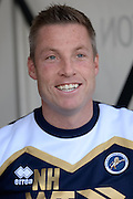 Millwall Manager Neil Harris during the EFL Sky Bet League 1 match between Northampton Town and Millwall at Sixfields Stadium, Northampton, England on 15 October 2016. Photo by Dennis Goodwin.