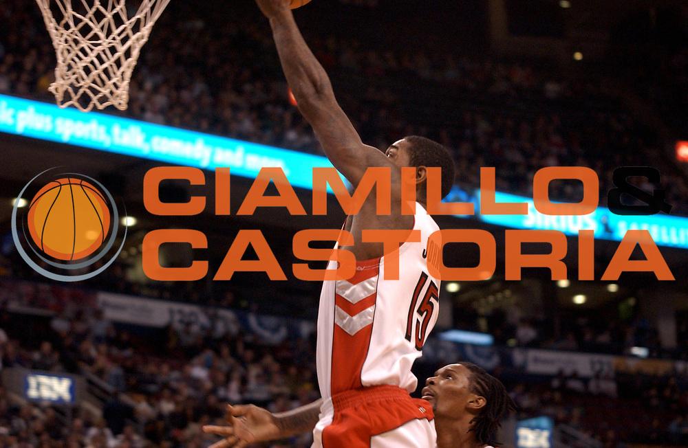 DESCRIZIONE : Toronto NBA 2009-2010 Toronto Raptors New Orleans Hornets<br /> GIOCATORE : Amir Johnson<br /> SQUADRA : Toronto Raptors<br /> EVENTO : Campionato NBA 2009-2010 <br /> GARA : Toronto Raptors New Orleans Hornets<br /> DATA : 20/12/2009<br /> CATEGORIA :<br /> SPORT : Pallacanestro <br /> AUTORE : Agenzia Ciamillo-Castoria/V.Keslassy<br /> Galleria : NBA 2009-2010<br /> Fotonotizia : Toronto NBA 2009-2010 Toronto Raptors New Orleans Hornets<br /> Predefinita :