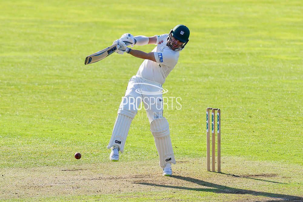 Travis Head of Worcestershire batting during the Specsavers County Champ Div 1 match between Somerset County Cricket Club and Worcestershire County Cricket Club at the Cooper Associates County Ground, Taunton, United Kingdom on 20 April 2018. Picture by Graham Hunt.