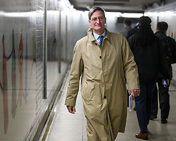 © Licensed to London News Pictures. 21/10/2019. London, UK. Conservative MP DOMINIC GRIEVE is seen in Westminster, London. Last week Parliament sat on a Saturday for the first time since 1982, but failed to vote on Boris Johnson's new Brexit deal. Photo credit: Ben Cawthra/LNP