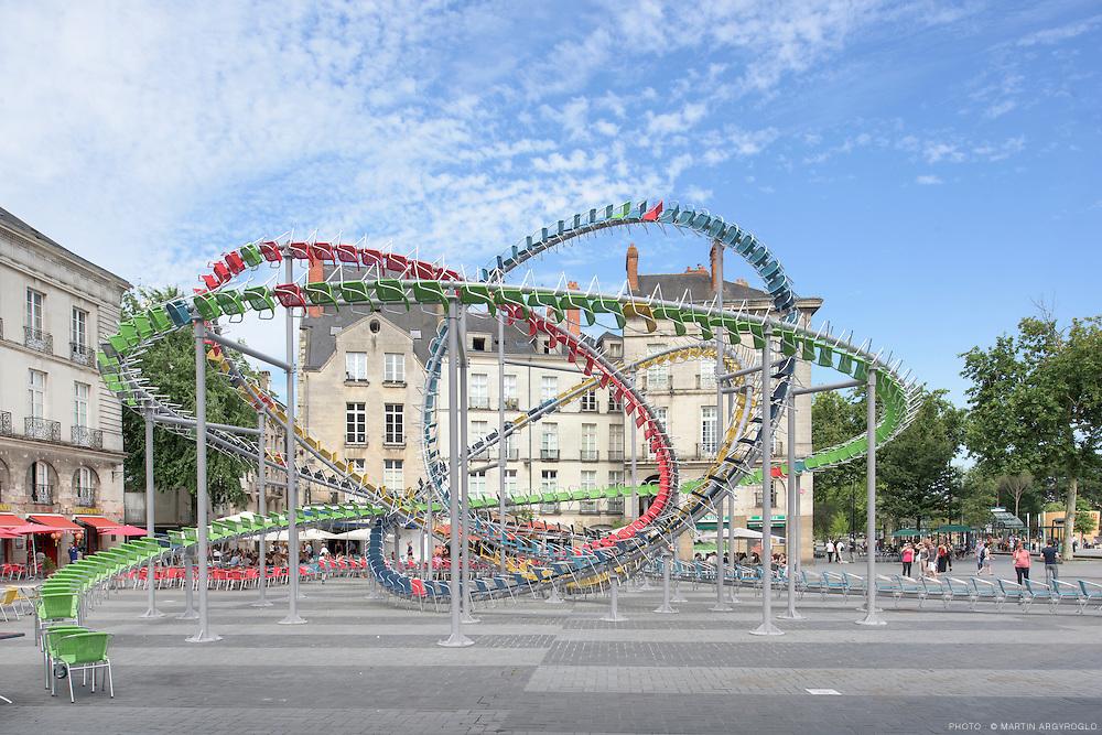 Le Voyage à Nantes 2015 : Stellar / Baptiste Debombourg - Place du Bouffay, Nantes