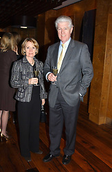 MR & MRS EDWARD ASPREY at the opening party of Pengelley's, 164 Sloane Street, London SW1 on 22nd February 2005.<br /><br />NON EXCLUSIVE - WORLD RIGHTS