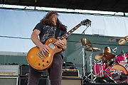 Chevy Metal perform at Cal Jam '18 Pop-Up on August 26, 2018 at the Hollywood Palladium in Los Angeles, California (Photo: Charlie Steffens/Gnarlyfotos)