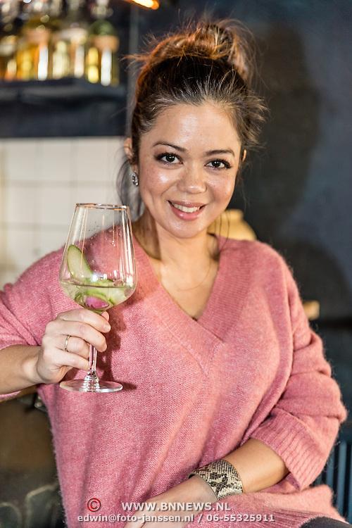 NLD/Amsterdamt/20170111 - Nieuwjaarsborrel Opvliegers 2,Cystine Carreon