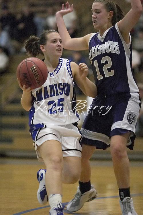 MCHS Varsity Girls Basketball..vs Strasburg..Fourth Period..December 17, 2004