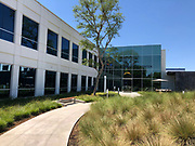 General overall view of the Hoag Performance Center in Costa Mesa, Calif., Tuesday, Aug. 14, 2018. The site is the the headquarters for the Los Angeles Chargers business operations and practice facility after relocation from San Diego for the 2017 season.