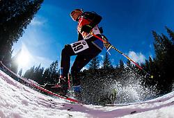 TOIVANEN Ahti (FIN) competes during Men 12,5 km Pursuit at day 3 of IBU Biathlon World Cup 2014/2015 Pokljuka, on December 20, 2014 in Rudno polje, Pokljuka, Slovenia. Photo by Vid Ponikvar / Sportida