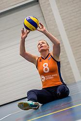22-09-2017 NED: Training zitvolleybalsters Oranje 2017-2018, Leersum<br /> Nederland bereidt zich voor op het komende EK zitvolleybal / Paula List #8