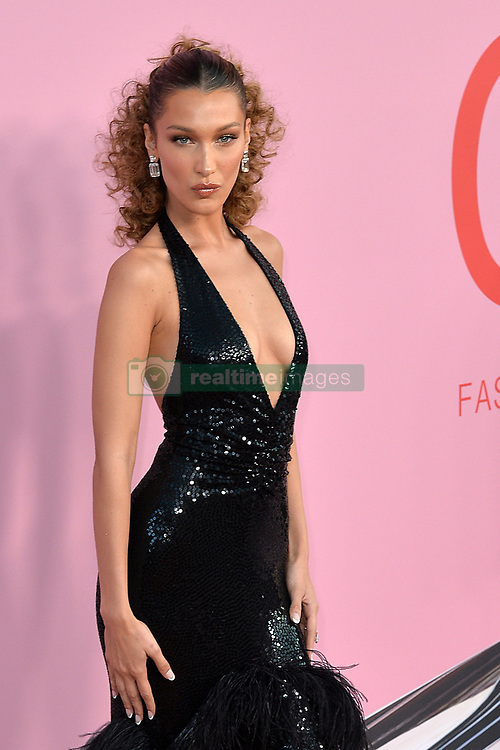 June 4, 2019 - New York, NY, USA - June 3, 2019  New York City..Bella Hadid attending CFDA Fashion Awards arrivals at the Brooklyn Museum on June 3, 2019 in New York City. (Credit Image: © Kristin Callahan/Ace Pictures via ZUMA Press)