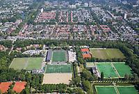 AMSTELVEEN - Luchtfoto Wagener Stadion in Amsterdamse Bos met Pinoke, AH&BC en Hurley.    COPYRIGHT  KOEN SUYK