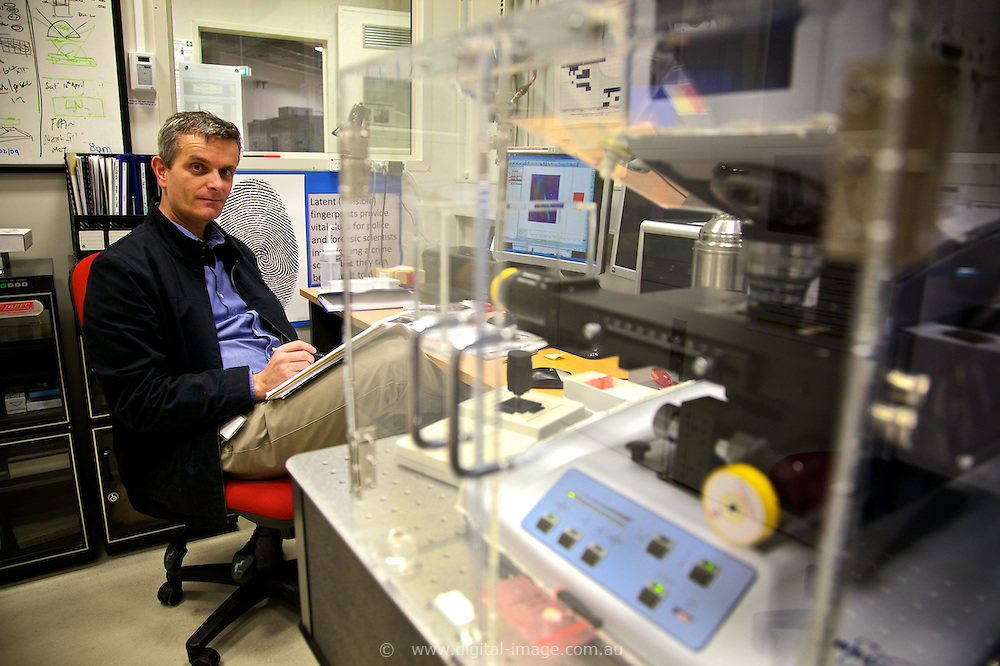 Infrared beamline, Australian Synchrotron, Dr Mark Tobin, Principal Scientist and Scientific Support Officer