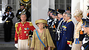 Prinsjesdag 2007 in The Hague. <br /> <br /> On the Photo: Queen Beatrix  leave the Palace
