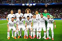 Groupe PSG - 21.04.2015 - Barcelone / Paris Saint Germain - 1/4Finale Retour Champions League<br />Photo : Dave Winter / Icon Sport