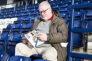Preston N\E fans before the EFL Sky Bet Championship match between Preston North End and Charlton Athletic at Deepdale, Preston, England on 18 January 2020.