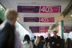 © Licensed to London News Pictures. 16/11/2011. London, UK. Shoppers on London's Oxford Street today (16/11/2011) London has been formally named as the shopping capital of Europe. Photo credit: London News Pictures