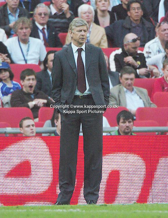 ARSENE WENGER, MANAGER ARSENAL, Arsenal v Chelsea, FA Cup Semi Final, Wembley Stadium, Saturday 18th April 2009